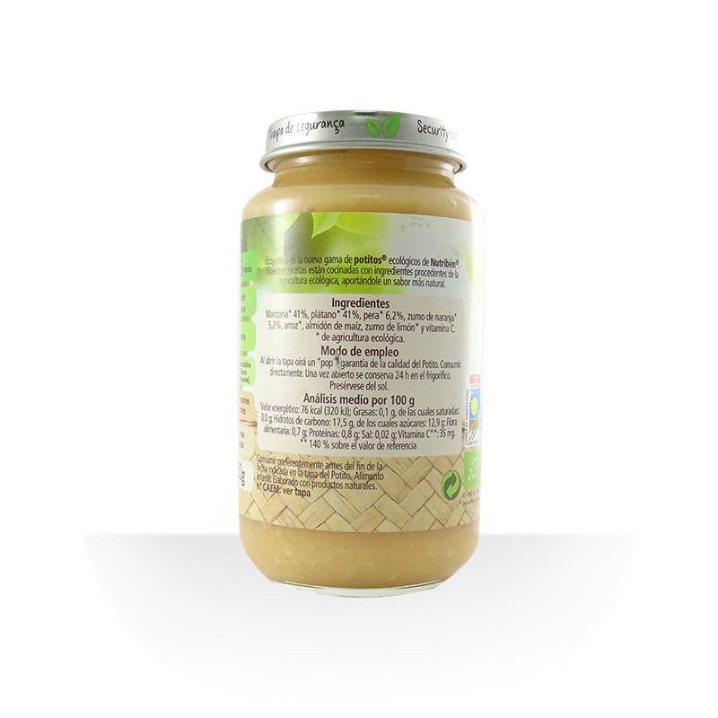 Potito macedonia de frutas selectas ECO 250 g