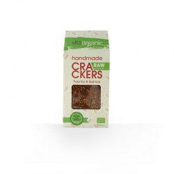 Cracker Crudivegano Pimiento y Quinoa ECO 90g (Vitaorganic)