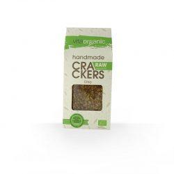 Cracker crudivegano semillas de chía ECO 90g (Vitaorganic)