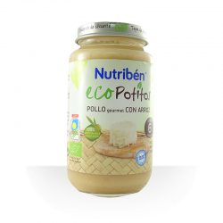 Potito pollo gourmet con arroz ECO 250 g (Nutribén)