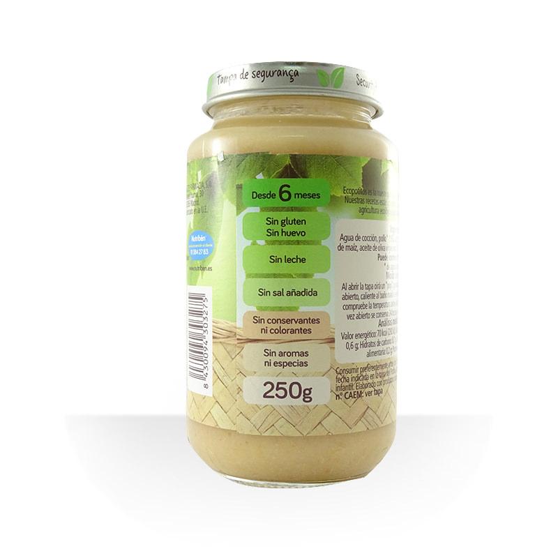 Potito pollo gourmet con arroz ECO 250g