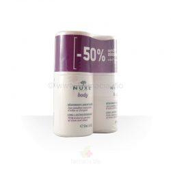 Desodorante larga duración roll-on Nuxe Body 50 ml / duplo 50 ml