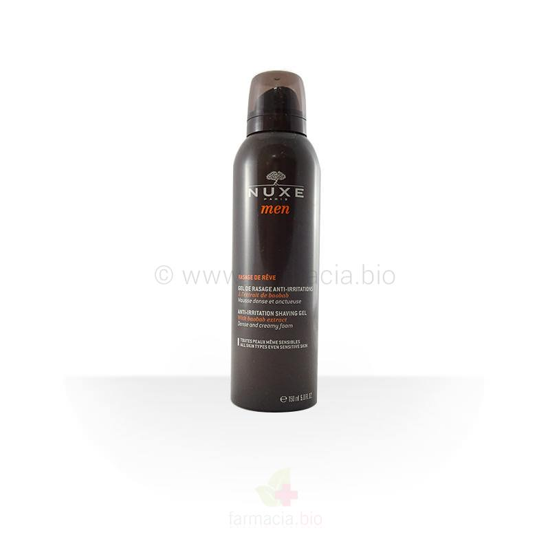 Gel de afeitar anti-irritaciones Nuxe men 150 ml
