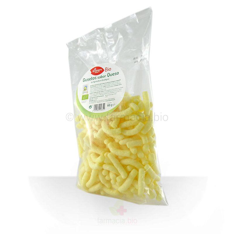 Gusetos sabor queso BIO 60 G