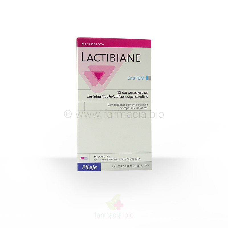 Lactibiane Cnd 10 M 14 cápsulas / Cnd 5 M 40 cápsulas