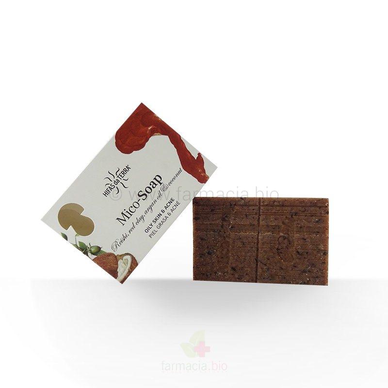 Jabón de Reishi, argán y arcilla roja 150 GR