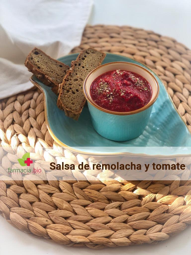 Receta de salsa de remolacha y tomate