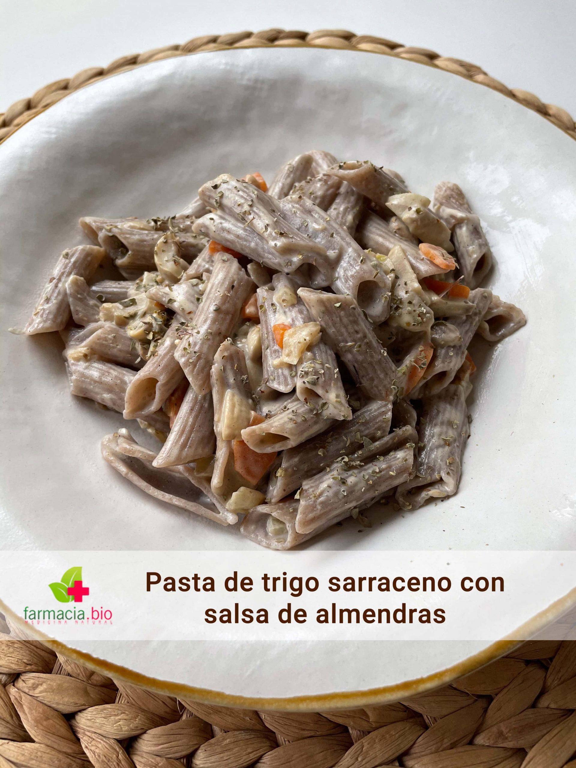 Pasta de trigo sarraceno, un plato fuerte y nutritivo